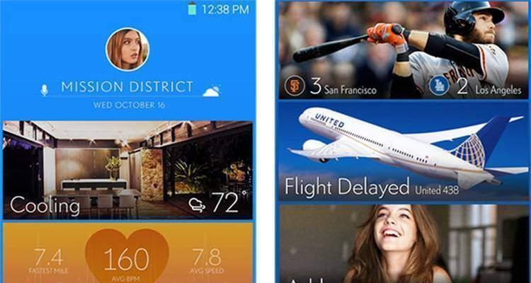 magazine ux smartphone home page