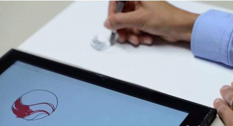 Qualcomm Ultra Sound Notepad, una nuova tecnologia per designer!