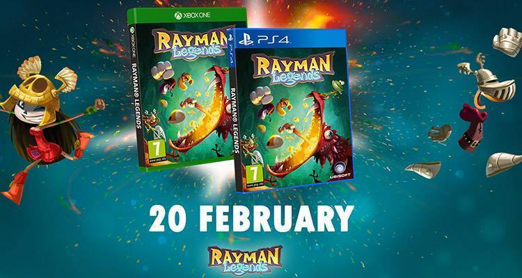 Rayman Legends per PS4 e Xbox One, data di uscita ufficiale