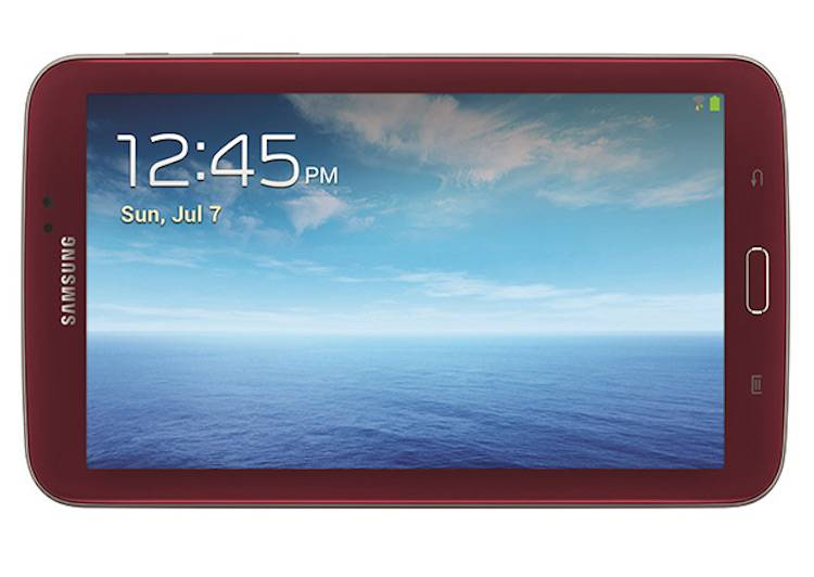 "Samsung lancia il Galaxy Tab 7.03 ""Garnet Red"" negli USA"