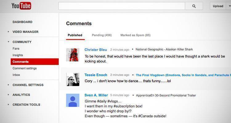 youtube-commenti-gestione