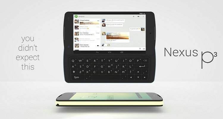 Nexus P3: un concept italiano sul futuro Google Phone!