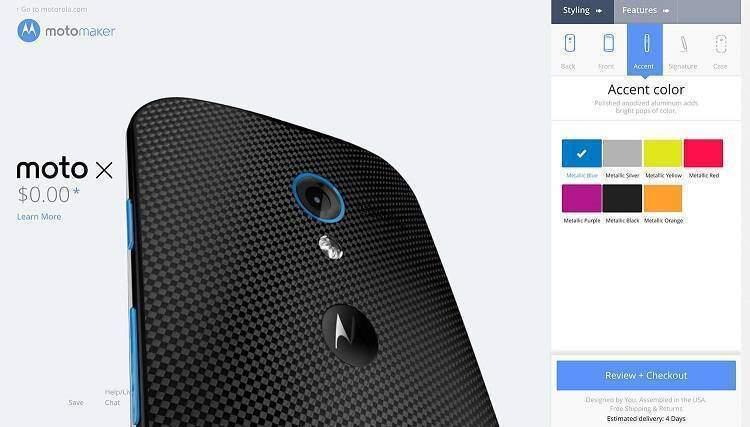 Il servizio Moto Maker di Motorola anche in Europa nel Q2
