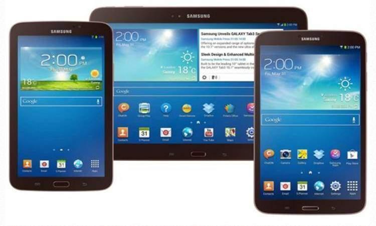 Samsung Galaxy Tab 4: trapelano le caratteristiche di tre nuovi tablet
