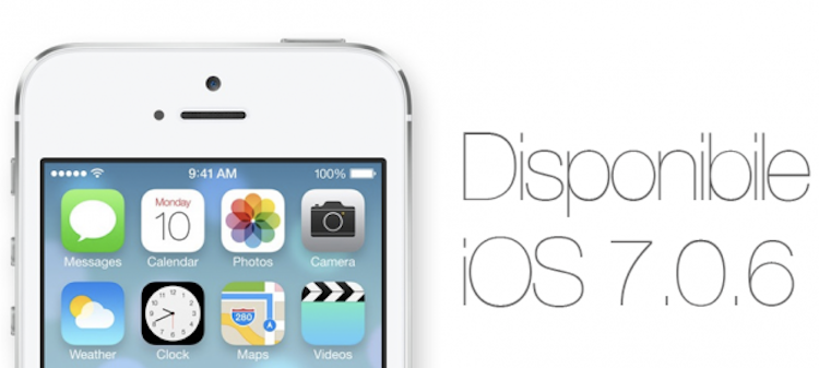 Apple rilascia iOS 7.0.6