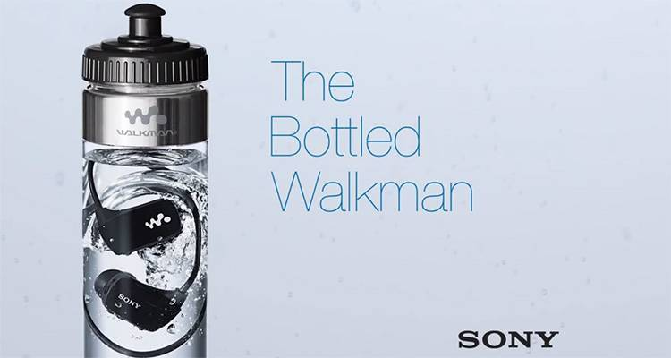bottled walkman