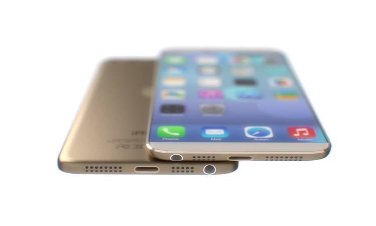 iPhone 6, mockup da 5.5 pollici a confronto con iPhone 5S