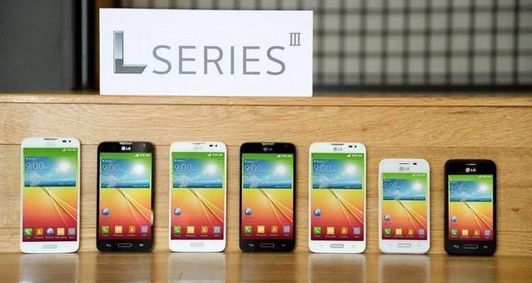 LG Serie L III ufficiale: ecco i nuovi smartphone LG L40, L70 ed L90!