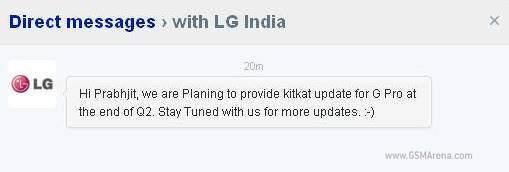 lg optimus g pro android 4.4 kitkat