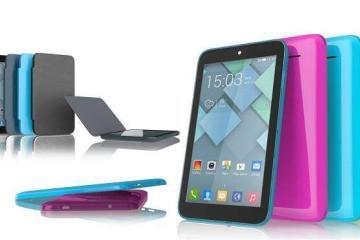 Le diverse colorazioni disponibili per One Touch PIXI 7 di Alcatel