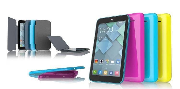 Alcatel One Touch PIXI 7: dal MWC, il tablet Wi-Fi a soli 79€