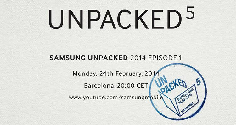 Samsung Galaxy S5, presentazione il 24 febbraio?