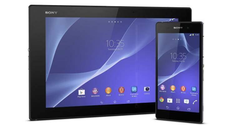 Sony Xperia Z2 Tablet presentato al MWC 2014