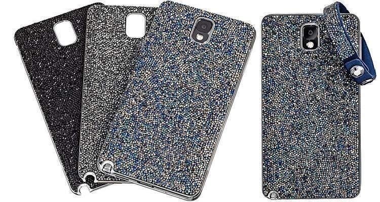 Galaxy Note 3: Samsung lancia le cover Swarovski