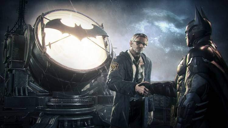 Batman Arkham Knight Gordon