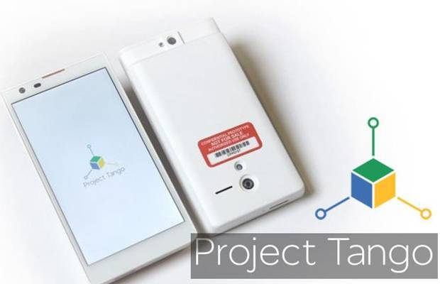 Google Project Tango: prototipo con ben 4 fotocamere!