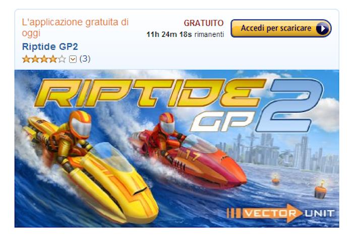 Riptide GP2 gratis per oggi su Amazon App Shop