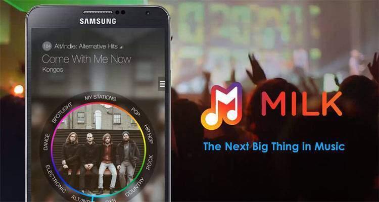 Samsung Milk Music, arriva un nuovo servizio musicale