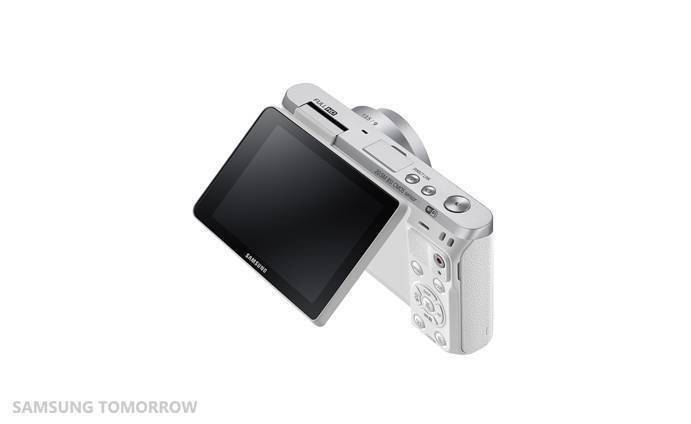 Samsung NX Mini display