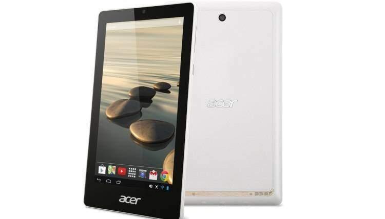 Acer verso il lancio di Iconia One 7, il nuovo tablet low-cost