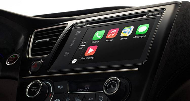 Apple CarPlay, sistema per auto basato su iOS
