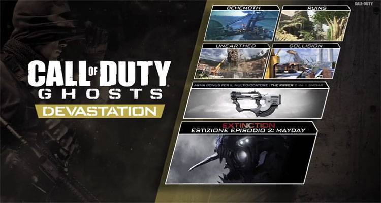 Call of Duty Ghosts Devastation, annunciato il nuovo DLC