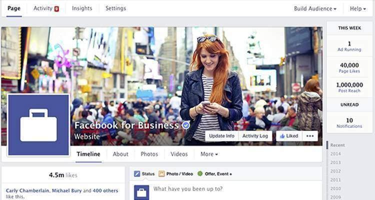 Facebook rinnova la grafica delle Fanpage