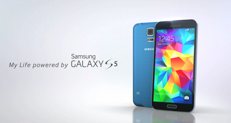 immagine promozionale Samsung Galaxy S5