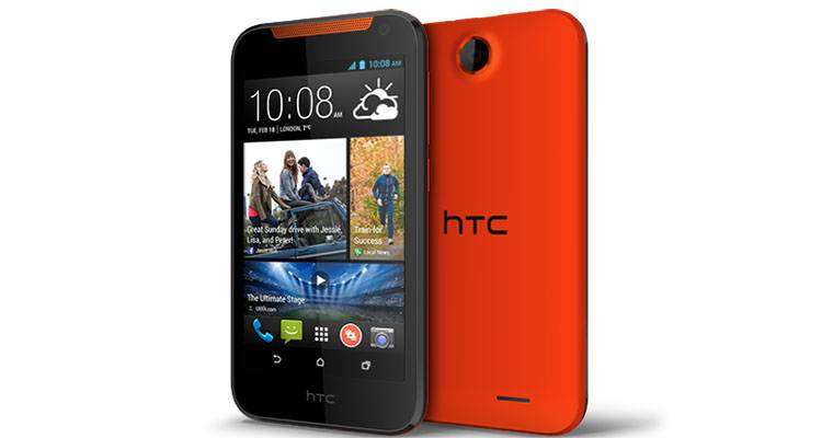 htc desire 310 red