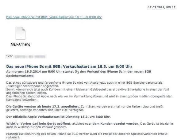 iphone 5 c offerta
