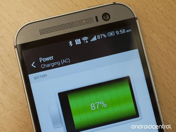 HTC One M8 supporta il Qualcomm Quick Charge 2.0
