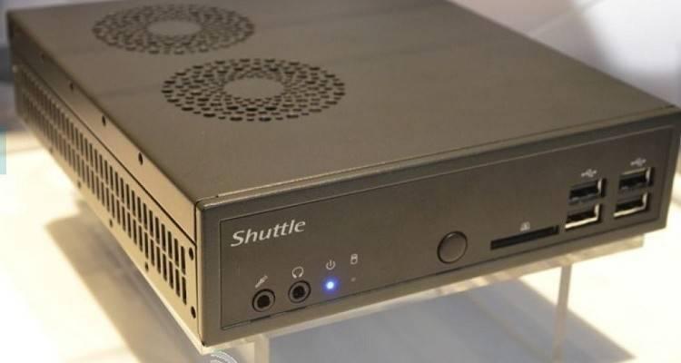 fotografica Shuttle Mini PC Intel Haswell