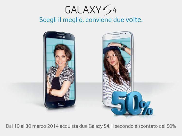 samsung galaxy s4 offerta