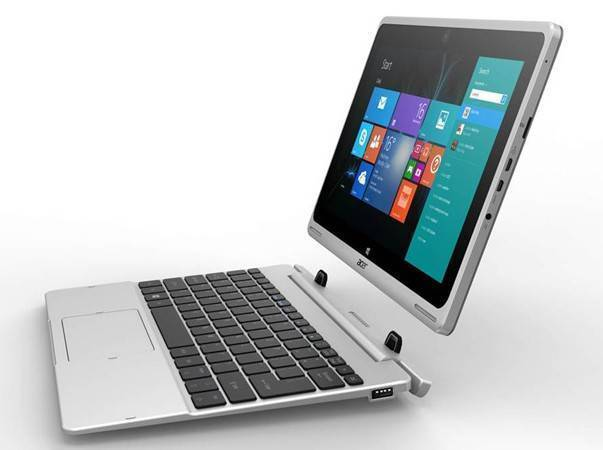 Acer mostra l'Aspire Switch 10, un notebook/tablet 3 in 1 davvero elegante!
