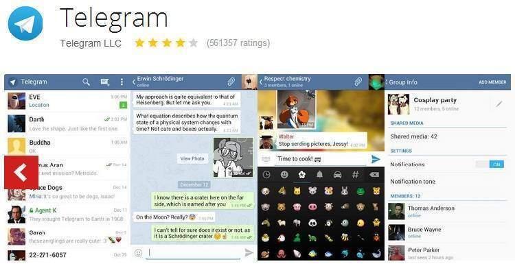 Telegram vola e si aggiorna: lingua italiana e note vocali
