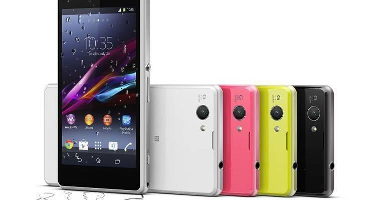 Immagine promozionale Sony Xperia Z1 Compact
