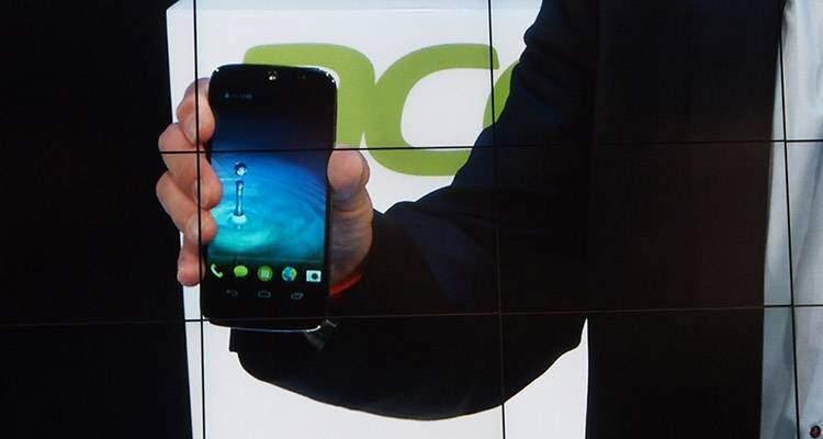 Acer Liquid Jade svelato insieme al bracciale Liquid Leap
