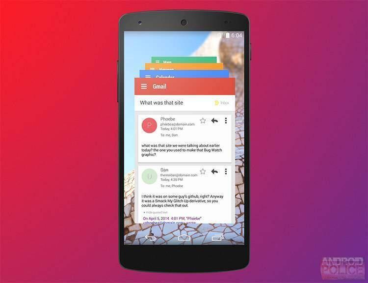 Google Hera UI