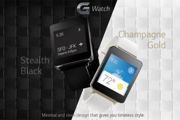LG G Watch colori