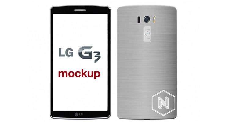 LG G3 Mockup