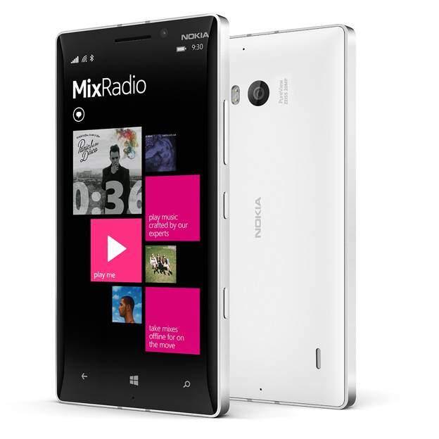 Nokia Lumia 930 MixRadio