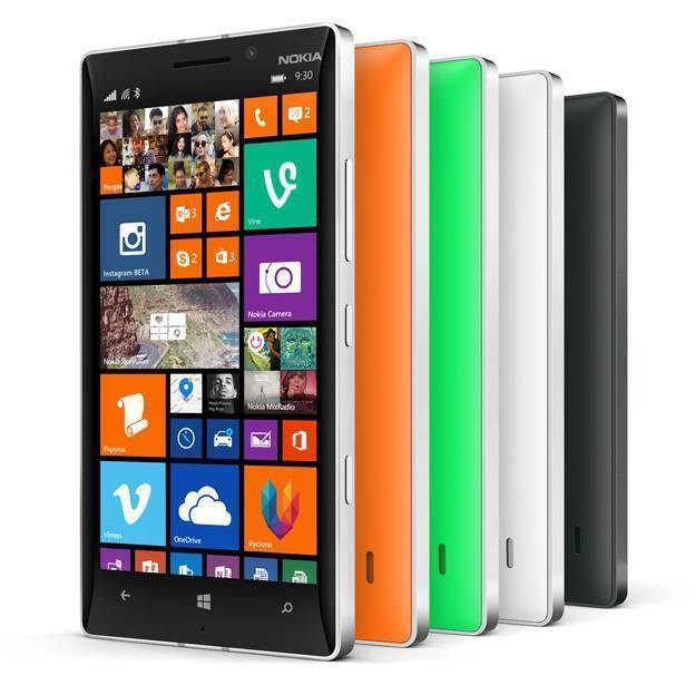 Nokia Lumia 930 displa
