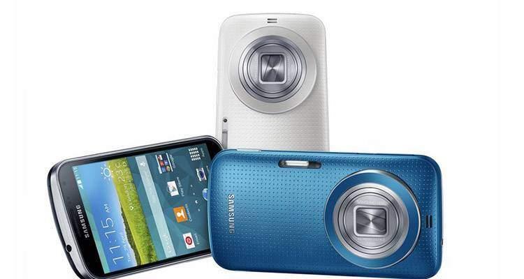 Immagine promozionale Samsung Galaxy K Zoom