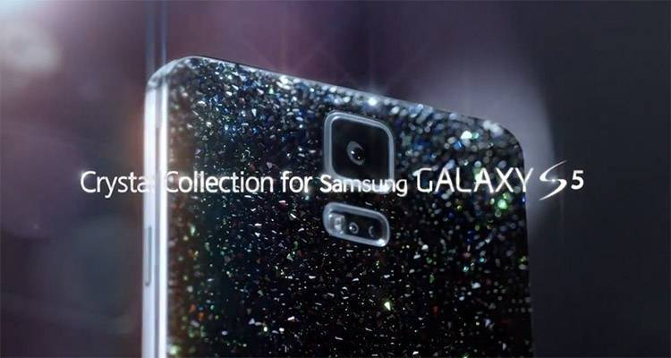 Samsung Galaxy S5 Crystal Collection in arrivo a maggio