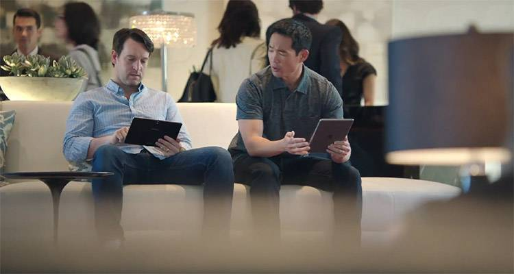 Samsung Galaxy Tab Pro vs iPad