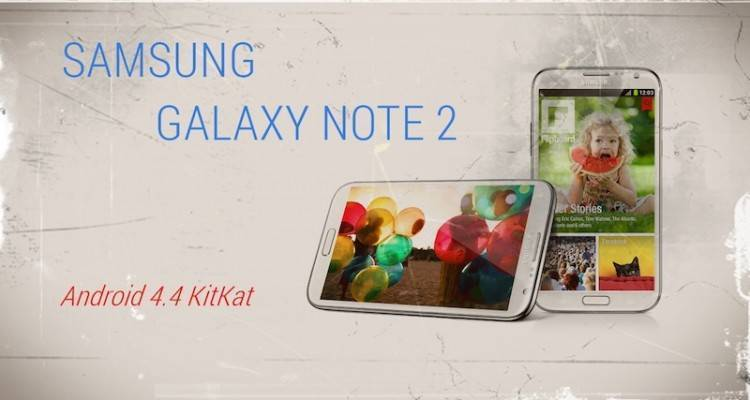 Sasmung-Galaxy-NOTE-2-Android-4.4-KitKat-Update