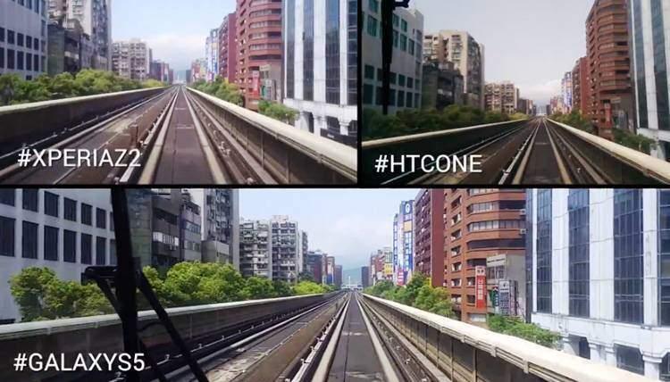 Xperia Z2, Galaxy S5, HTC One M8: confronto sullo stabilizzatore delle immagini