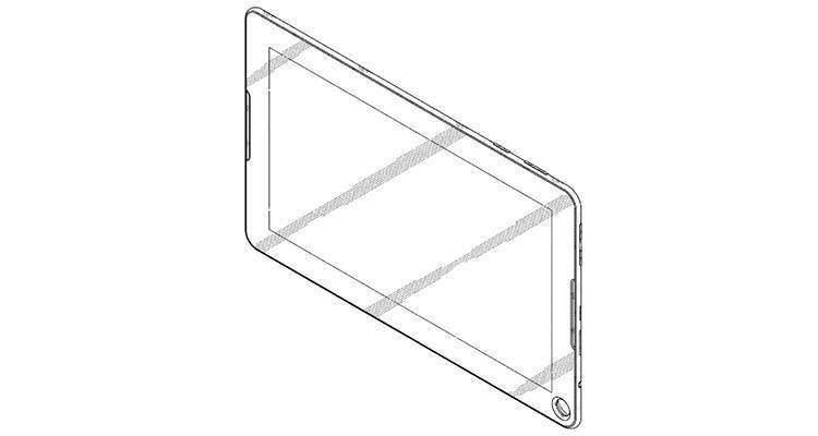 Tablet Samsung con buco