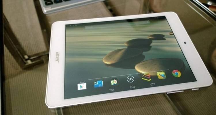 Acer A1-840 è il primo tablet Android con CPU Bay Trail z3745