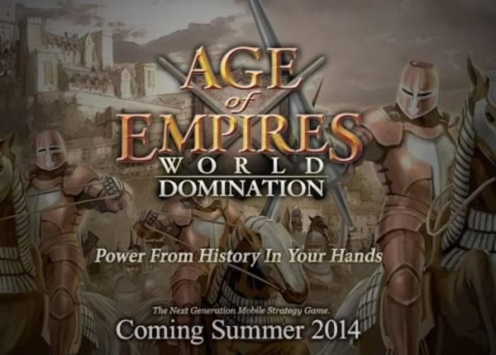 Age of Empires: World Domination in arrivo su piattaforma mobile